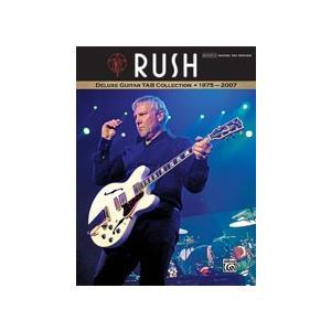 取寄 楽譜 Rush: Deluxe Guitar TAB Collection 1975 - 2007   ラッシュ 曲集・ギター&ボーカル譜・タブ譜 otorakuya