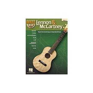 取寄 楽譜 ウクレレ・プレイ・アロング Volume 6:レノン&マッカートニー | John Lennon ・ Paul McCartney  マイナスワン|otorakuya
