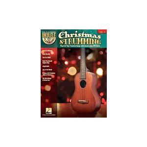 取寄 楽譜 ウクレレ・プレイ・アロング Volume 11:クリスマスつま弾き マイナスワン|otorakuya
