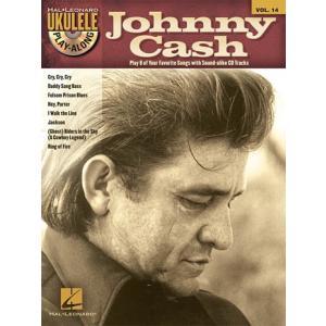 取寄 楽譜 ウクレレ・プレイ・アロング Volume 14:ジョニー・キャッシュ | Johnny Cash  マイナスワン|otorakuya