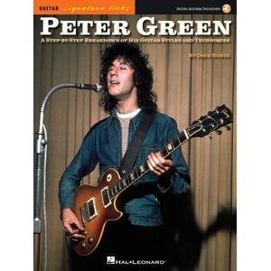 取寄 楽譜 Peter Green: A Step-by-Step Breakdown of the Guitar Styles and Techniques | ピーター・グリーン 曲集・Guitar採譜版|otorakuya
