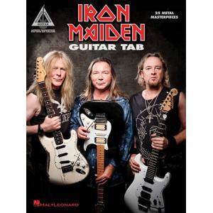 取寄 楽譜 Iron Maiden - 25 Metal Masterpieces (Guitar Tab)   アイアン・メイデン   Iron Maiden  曲集・Guitar採譜版・タブ譜 otorakuya