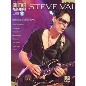 取寄 楽譜 Guitar Play-Along Volume 193: Steve Vai | Steve Vai  曲集・ギター譜|otorakuya
