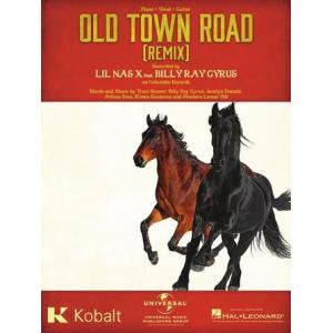 新譜 取寄 楽譜 Old Town Road (I Got the Horses in the Back) | リル・ナズ・X | Lil Nas X ・ featuring Billy Ray Cyrus   ピース|otorakuya
