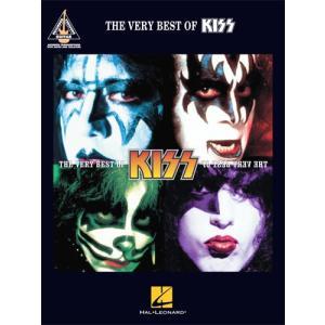 新譜 取寄 楽譜 The Very Best of KISS | キッス | KISS   曲集・Guitar採譜版・タブ譜|otorakuya