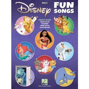 新譜 取寄 楽譜 The Disney Fun Songs for Ukulele ウクレレ用曲集|otorakuya
