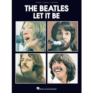 新譜 取寄 楽譜 Let It Be | ザ・ビートルズ | The Beatles  曲集|otorakuya