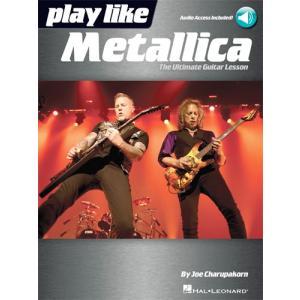 新譜 取寄 楽譜 Play like Metallica | メタリカ | Metallica   曲集・ギター譜・タブ譜付き|otorakuya