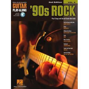 新譜 取寄 楽譜 Guitar Play-Along Volume 6: '90s Rock   2nd Edition 曲集・ギター譜|otorakuya