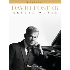 取寄 楽譜 Eleven Words   David Foster  曲集 otorakuya