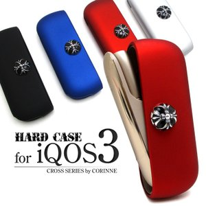 iQOSケース iQOS3ケース iQOS3 ケース ハードケース アイコス メンズ シルバー 人気 カバー 収納 保護 ハーツ iQ145|otoritsuke