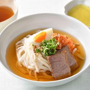 別府冷麺4食セット(ギフト箱入り) 送料無料 、牛チャーシュー かぼすこしょう付 OITA30CP_...