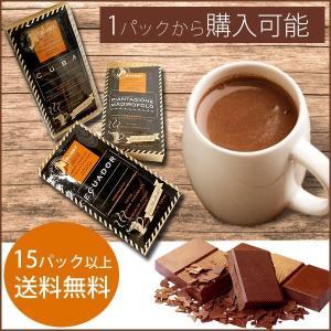 1パックから購入可能・15パック以上送料無料・3営業日発送 ホットチョコレート2P バレンタインに