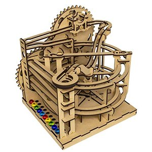 ツクロウ ビー玉コースター ( ビーコス ) 組立てキット 木製パズル 立体パズル