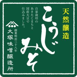 【無添加】こだわりの大塚味噌 500g|otsuka-miso