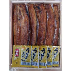 サイズアップ!国産うなぎ蒲焼(110〜130g)ギフト用5本化粧箱入 愛知県三河一色産