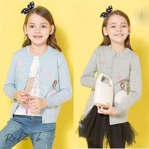 韓国子供服 ニット カーディガン 長袖  女の子 子ども服 キッズ 女児 ガールズ 薄手 子供カーディガン ニットトップス 冷房対策   かわいい シンプル|otto-shop