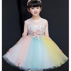 子供ドレス ピアノ発表会 ロング 結婚式 キッズ フォーマルドレス 子どもドレス ジュニアドレス 結婚式 女の子 ワンピース発表会 子供ドレス|otto-shop