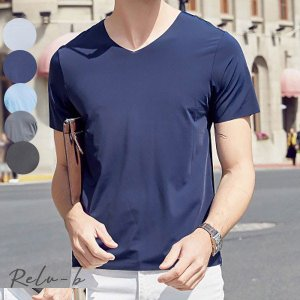 Tシャツ メンズ 丸襟 Tシャツ メンズ おしゃれ 半袖  無地 Tシャツ 大きいサイズ 春夏 カジュアルTシャツ ハンサム  Tシャツ 安い Tシャツ メンズ おしゃれ|otto-shop