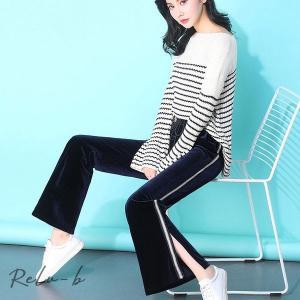 韓国ファッション リネンパンツ ワイドパンツ 通勤 ボトムス リネン パンツ秋 冬 リラックスパンツ 大人カジュアル カジュアル レディース ファッション|otto-shop