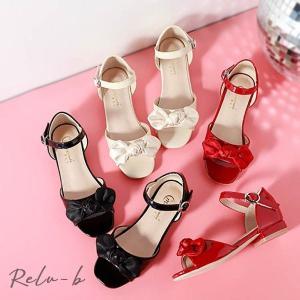 子供靴 キッズ シューズ フォーマル シューズ 女の子 PU靴  結婚式 入学式 入園式 卒園式 七五三 発表会 ブラック ベージュ レッド|otto-shop