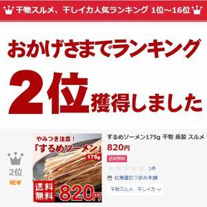 するめソーメン175g 1000円ポッキリ 北...の詳細画像1