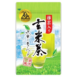 水出し 抹茶入り 玄米茶 ティーバッグ 冷茶 冷水 ティーパック|otyashizuoka