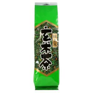 抹茶入り玄米茶 みどり 黒豆入り 200g 抹茶 玄米茶 香り 高い お茶 ひしだい|otyashizuoka