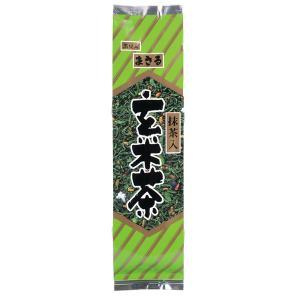 抹茶入玄米茶 まさる 黒豆入り 200g 抹茶 玄米茶 香り 高い お茶 ひしだい|otyashizuoka