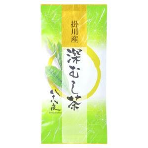 煎茶 掛川産 深むし茶 八十八夜 濃厚 深蒸し お茶 静岡茶 一番茶 ひしだい 100g ポスト便可|otyashizuoka