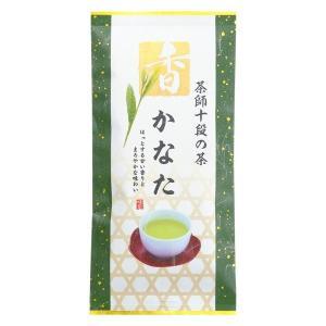煎茶 かなた 茶師 十段 田中 監修 緑茶 甘い香り まろやか お茶 茶葉 一番茶 ひしだい 100g ポスト便可|otyashizuoka