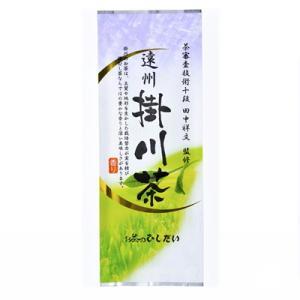 煎茶 遠州 掛川茶 深蒸し煎茶 深むし 茶 ご家庭用 美味しい お茶 100g ポスト便可|otyashizuoka