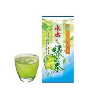 セール SALE 煎茶 水出し緑茶 冷茶用 茶葉 夏のお茶 水で淹れる 本格冷茶 水出し お茶 ひしだい 100g ポスト便可|otyashizuoka