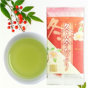煎茶 冬茶だより 中蒸し煎茶 100g 冬 季節 数量 限定 お茶 ポスト便可|otyashizuoka