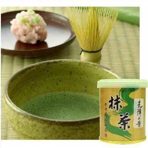 抹茶 先陣の昔 30g缶詰|otyashizuoka