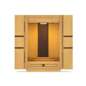 フランスベッド 仏壇 AM-04ナチュラル/仏壇サイズ 14号 ナチュラル