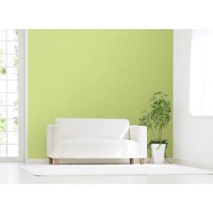 明和グラビア のり残しなしではがせるアクセント壁紙/WAP-500 ムジ グリーン/92x250cm|ouchi-style