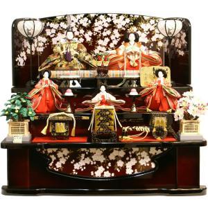 雛人形 天使の十二単衣 三段飾り 千匠作「雛ごよみ」37N-229B