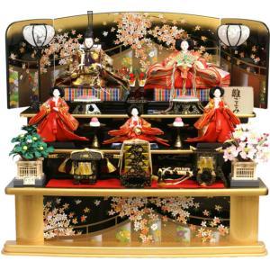 雛人形 天使の十二単衣 三段飾り 千匠作「雛ごよみ」45A-20|ouchiku