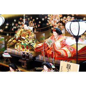 雛人形 天使の十二単衣 三段飾り 千匠作「雛ごよみ」45A-20|ouchiku|02