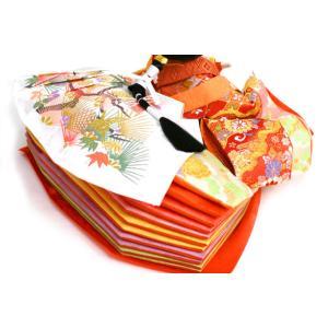 雛人形 天使の十二単衣 三段飾り 千匠作「雛ごよみ」45A-20|ouchiku|11