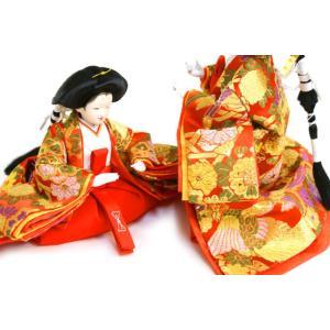 雛人形 天使の十二単衣 三段飾り 千匠作「雛ごよみ」45A-20|ouchiku|12