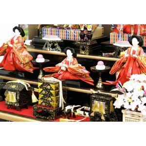 雛人形 天使の十二単衣 三段飾り 千匠作「雛ごよみ」45A-20|ouchiku|03