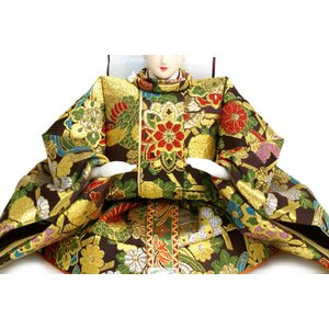 雛人形 天使の十二単衣 三段飾り 千匠作「雛ごよみ」45A-20|ouchiku|06
