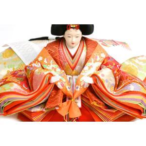 雛人形 天使の十二単衣 三段飾り 千匠作「雛ごよみ」45A-20|ouchiku|07