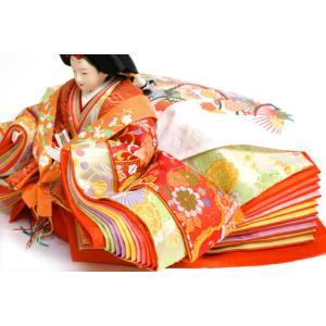 雛人形 天使の十二単衣 三段飾り 千匠作「雛ごよみ」45A-20|ouchiku|09