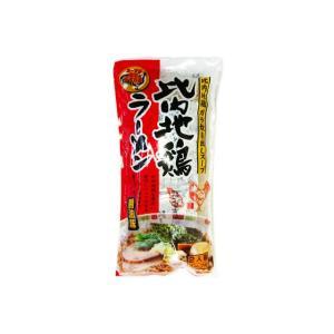 比内地鶏ラーメン 醤油味 2人前|ouchiku