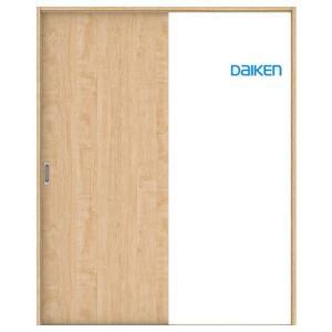 大建工業 片引き戸セット 00デザイン (固定枠/見切(ケーシング)枠) 内装ドア|ouchioukoku