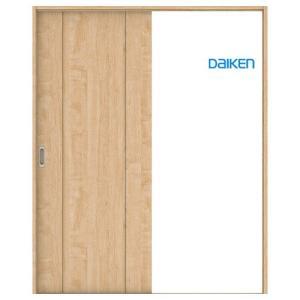 大建工業 片引き戸セット 1Pデザイン (固定枠/見切(ケーシング)枠) 内装ドア|ouchioukoku