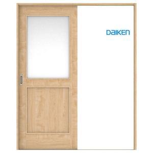 大建工業 片引き戸セット 24デザイン (固定枠/見切(ケーシング)枠) 内装ドア|ouchioukoku